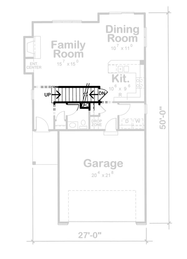 House Plan Design - European Floor Plan - Other Floor Plan #20-1513