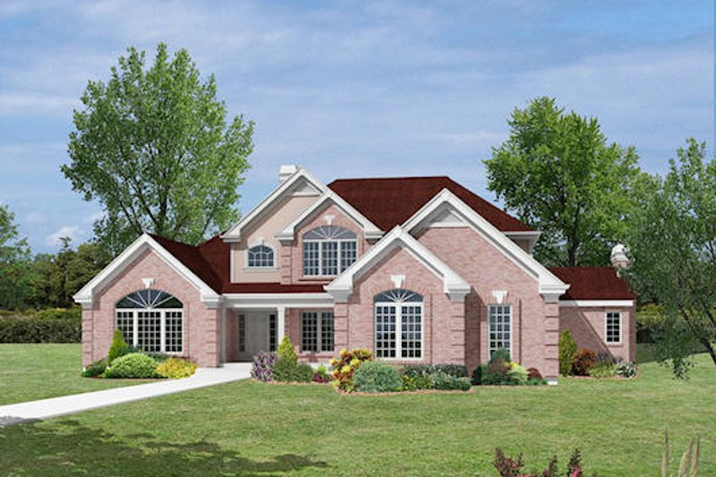 Country Exterior - Other Elevation Plan #57-337 - Houseplans.com