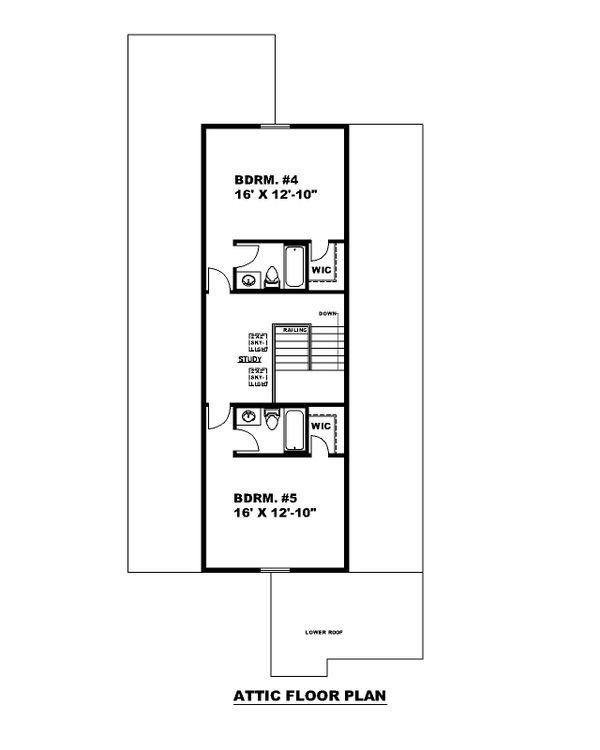 Traditional Floor Plan - Other Floor Plan #117-912