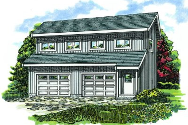 Traditional Exterior - Front Elevation Plan #47-517