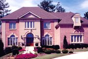 Classical Style House Plan - 4 Beds 4.5 Baths 4364 Sq/Ft Plan #119-113