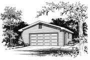 Traditional Style House Plan - 0 Beds 0 Baths 912 Sq/Ft Plan #22-409 Exterior - Front Elevation