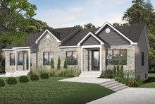 Traditional Exterior - Front Elevation Plan #23-681