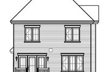 Dream House Plan - Traditional Exterior - Rear Elevation Plan #23-834