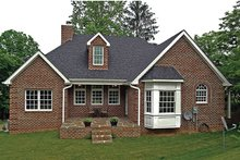 Home Plan - Country Exterior - Rear Elevation Plan #314-284