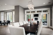Contemporary Style House Plan - 4 Beds 3.5 Baths 4983 Sq/Ft Plan #928-287 Interior - Dining Room