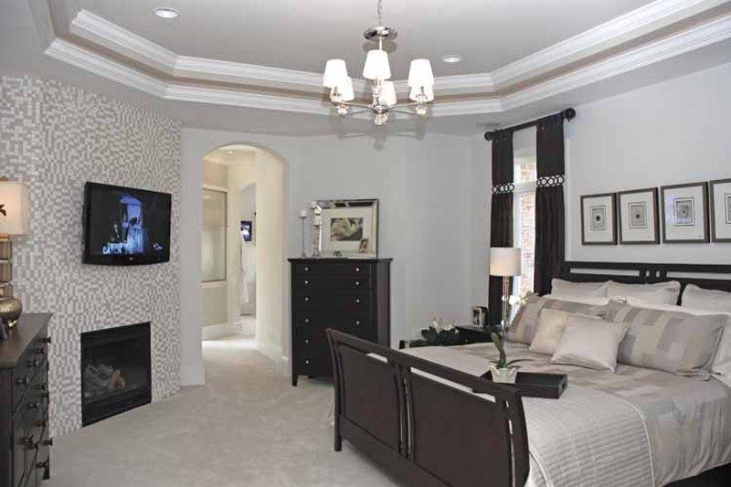 Country Interior - Master Bedroom Plan #952-78 - Houseplans.com
