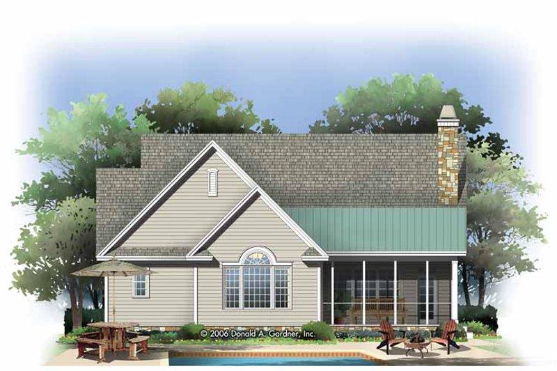 Craftsman Exterior - Rear Elevation Plan #929-795 - Houseplans.com