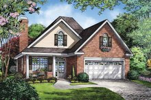 Ranch Exterior - Front Elevation Plan #929-865