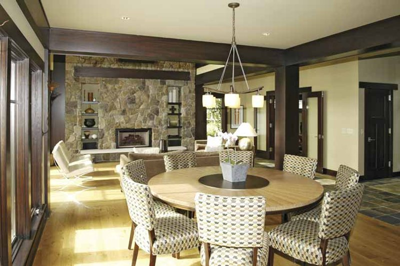 Craftsman Interior - Dining Room Plan #928-15 - Houseplans.com