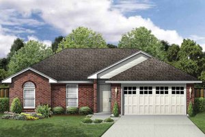 Traditional Exterior - Front Elevation Plan #84-744