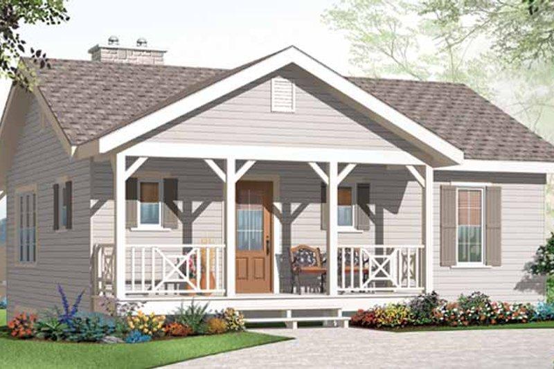 House Plan Design - Craftsman Exterior - Front Elevation Plan #23-2462