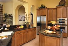 Mediterranean Interior - Kitchen Plan #930-321