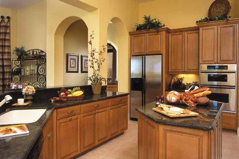 Mediterranean Interior - Kitchen Plan #930-321 - Houseplans.com