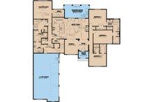 European Floor Plan - Main Floor Plan Plan #923-27