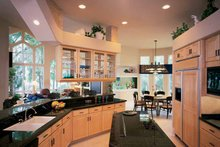 Contemporary Interior - Kitchen Plan #1039-4