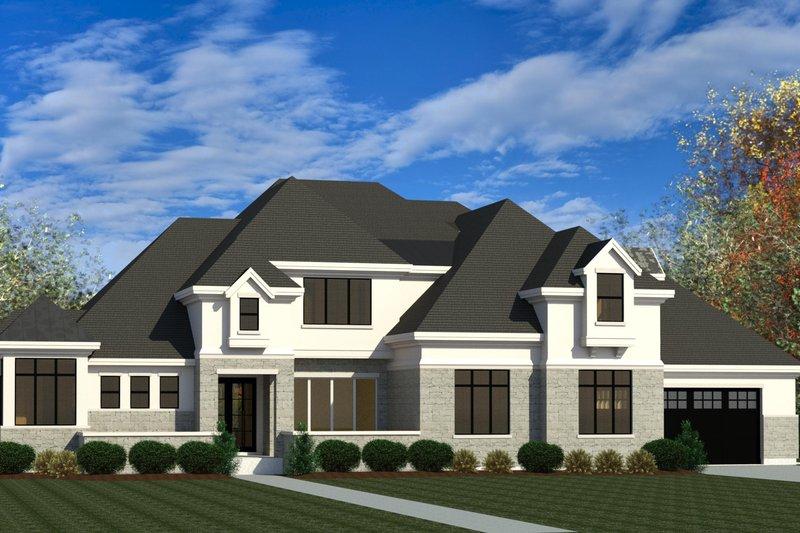 House Plan Design - European Exterior - Front Elevation Plan #920-107