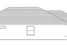 Adobe / Southwestern Exterior - Other Elevation Plan #1058-94