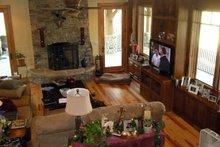 Architectural House Design - Craftsman Interior - Family Room Plan #942-26
