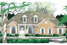 Home Plan - Colonial Exterior - Front Elevation Plan #472-171