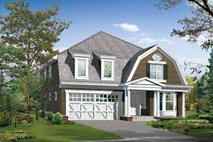 Home Plan - Craftsman Exterior - Front Elevation Plan #132-460
