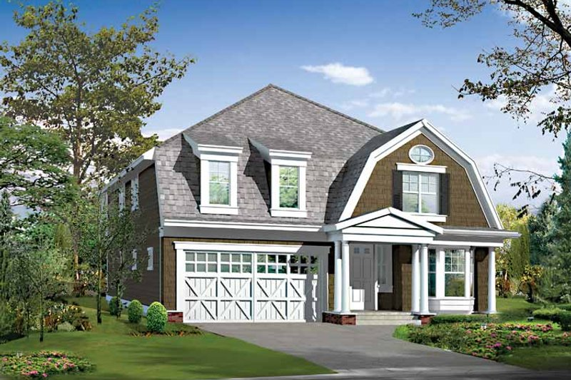 Craftsman Exterior - Front Elevation Plan #132-460