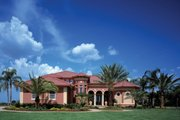 Mediterranean Style House Plan - 6 Beds 4.5 Baths 4391 Sq/Ft Plan #930-355 Exterior - Front Elevation