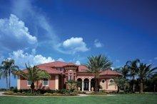Architectural House Design - Mediterranean Exterior - Front Elevation Plan #930-355
