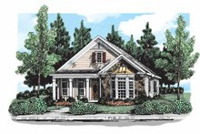 House Plan Design - Country Exterior - Front Elevation Plan #927-296