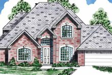 House Plan Design - Traditional Exterior - Front Elevation Plan #52-283