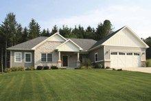 Architectural House Design - Craftsman Exterior - Front Elevation Plan #928-159