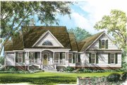 Country Style House Plan - 4 Beds 2.5 Baths 2207 Sq/Ft Plan #929-753 Exterior - Front Elevation