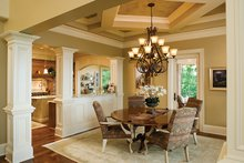 European Interior - Dining Room Plan #929-894