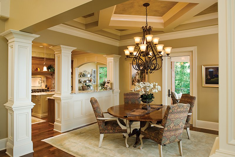 European Interior - Dining Room Plan #929-894 - Houseplans.com
