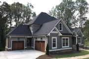 Traditional Style House Plan - 4 Beds 3.5 Baths 4366 Sq/Ft Plan #437-86 Exterior - Front Elevation