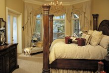 House Plan Design - Mediterranean Interior - Master Bedroom Plan #930-355