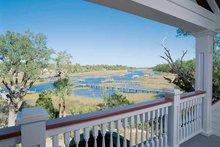 Dream House Plan - Country Exterior - Outdoor Living Plan #37-257