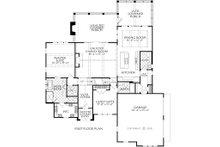 Farmhouse Floor Plan - Main Floor Plan Plan #927-1001