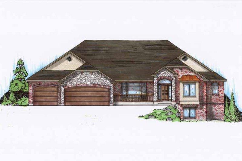 House Plan Design - European Exterior - Front Elevation Plan #945-129