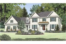 Traditional Exterior - Front Elevation Plan #328-462