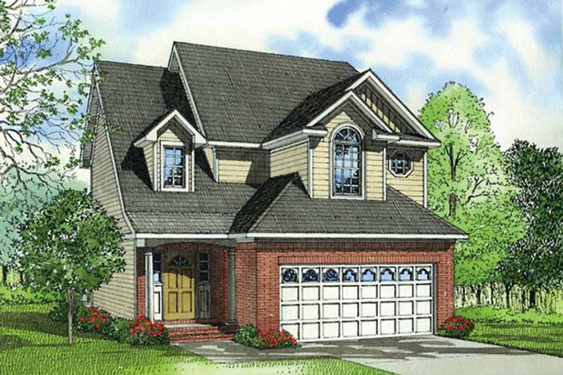 Country Exterior - Front Elevation Plan #17-3254 - Houseplans.com