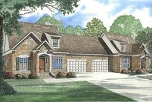 House Plan Design - Traditional Exterior - Front Elevation Plan #17-2008