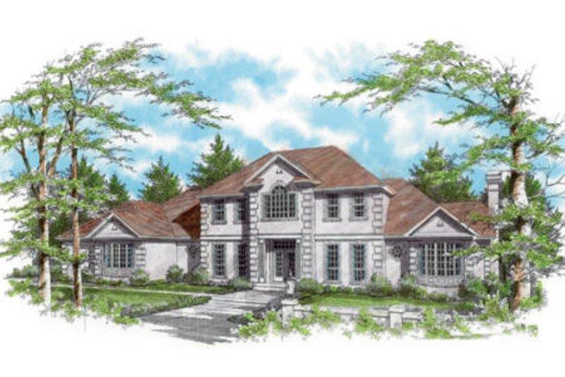 House Plan Design - European Exterior - Front Elevation Plan #48-349