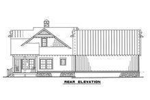 House Plan Design - B/W elevation