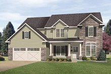 Traditional Exterior - Front Elevation Plan #22-543