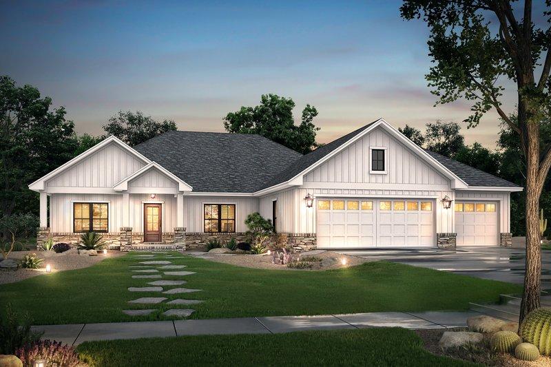 House Plan Design - Ranch Exterior - Front Elevation Plan #430-212