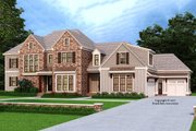 Traditional Style House Plan - 5 Beds 4.5 Baths 4095 Sq/Ft Plan #927-993 Exterior - Front Elevation