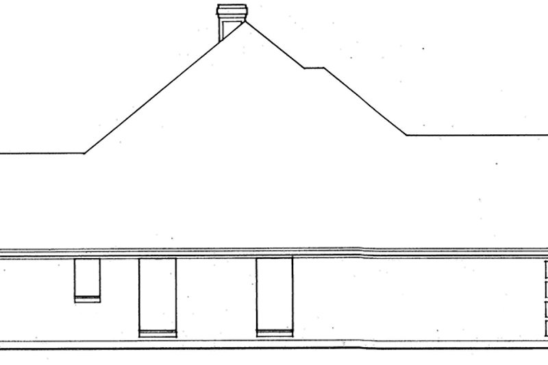 Country Exterior - Other Elevation Plan #42-707 - Houseplans.com