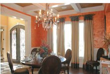 Colonial Interior - Dining Room Plan #927-587
