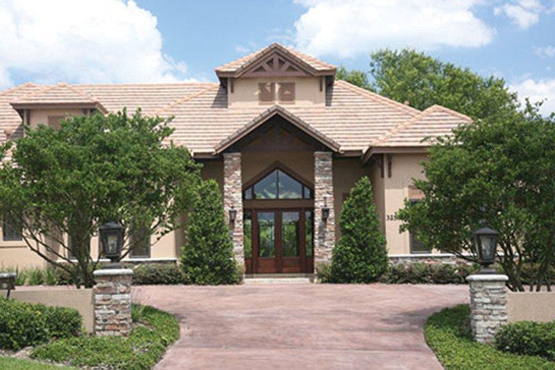House Plan Design - Contemporary Exterior - Front Elevation Plan #417-814